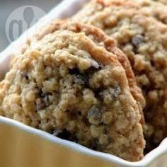 Chewy oat and chocolate chip cookies @ allrecipes.co.uk
