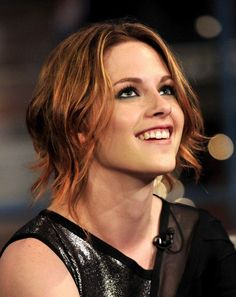 What do you think of Kristen Stewart's new red hair?