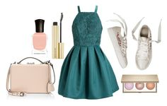 """""""In Pieces"""" by i-dont-want-to-go ❤ liked on Polyvore featuring Mark Cross and Deborah Lippmann"""