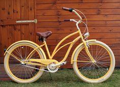 Rower cruiser Sunrise #bike #cruiser #beachbike #beachcruiser #royalbi #rower #miejski www.RoyalBi.pl