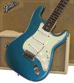 1964 Lake Placid Blue Fender Stratocaster