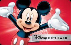 How to Save Money on Disney Gift Cards for Your Disneyland Trip