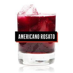1.5 oz. cocchi americano + 4 oz. labrusco rosato