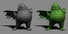 captain_underpants_mesh by yrainville | Animation | 3D | CGSociety