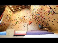 Home Climbing Wall With One Leg and iWalk 2.0 Crutch; Broken Foot - YouTube