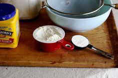 Cake flour is made with 2 Cups flour, minus 2 T. of the measured out flour. Add 2T. cornstarch to replace the flour taken out. Sift like crazy, about 5 times to incorporate air, combine the flour and cornstarch, and eliminate any lumps. The result is cake flour!!!