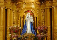 Twice a year, in February and October, the statue of Our Lady of Good Success is brought down from the cloistered choir to the convent church for public veneration.
