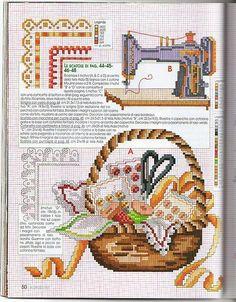 Schema punto croce Cucito-e-ricamo-5