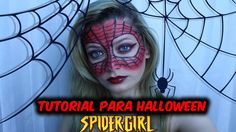 Tutorial Halloween - Spider Girl   Jacky Coutinho