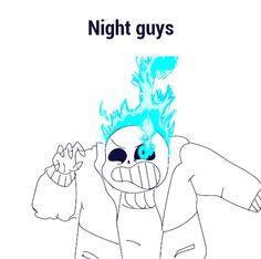 Night guys GIF