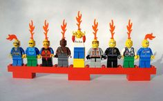 The lego menorah cracks me up.  I'm not Jewish, but if I was I would so do this!