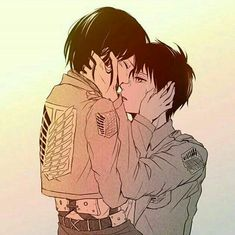 mikasa x eren Attack On Titan Eren, Attack On Titan Ships, Cute Anime Couples, Anime Love Couple, Mikasa X Eren, Rivamika, Eremika, Anime Demon, Anime Ships