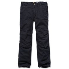 A pair of durable Carhartt Tacoma Cotton Ripstop Pants well get you through even the most arduous of days. With their relaxed fit, they sit nicely beneath the waist, with a gusseted crotch and articulated knees for maximum comfort. The right leg features a phone pocket to keep your mobile close to hand.