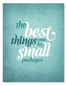 22 Best Good Things Come In Small Packages Images Good Things
