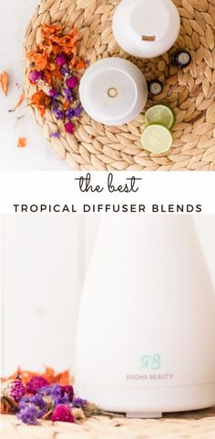 Learn how to blend essential oils to make a tropical diffuser blend. These blends are fun, fruity, and will remind you of the beach! #tropicaldiffuser #diffuserblends #tropicaldiffuserblend #tropicalessentialoils Essential Oil Diffuser Blends, Essential Oils, Roller Bottle Recipes, Natural Solutions, Diy Skin Care, Natural Remedies, Tropical, Healthy Recipes, Homemade