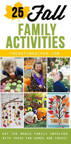 The Dating Divas gathered SO many fun family activities! I LOVE these Fall Favorites!