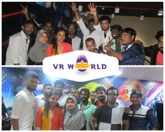 This group of friends had a wonderful fun at VR World.   Plan for your get-togethers with your #friends, colleagues to visit us to have a exciting #VR #games