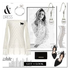"""Black and white"" by ilona-828 ❤ liked on Polyvore featuring Gabor, Dune and polyvoreeditorial"