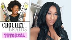 I always get asked questions on how I do my hair, what weave/wigs I wear... No child, these are crochet braids! So here is a tutorial for you guys. If you li...