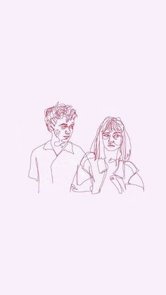James and Alyssa from The End of the F**cking World World Wallpaper, Iphone Wallpaper, James And Alyssa, Color Meanings, End Of The World, Female Art, Art Inspo, Art Drawings, Illustration Art