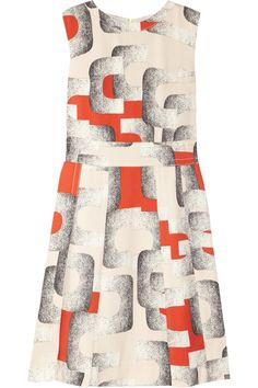 Diane von Furstenberg | Hayley printed silk-blend dress | NET-A-PORTER.COM