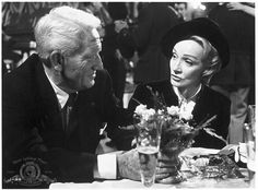 © 1962 Metro-Goldwyn-Mayer Studios Inc. All Rights Reserved.  Titles: Judgment at Nuremberg  Names: Marlene Dietrich, Spencer Tracy  Still of Marlene Dietrich and Spencer Tracy in Judgment at Nuremberg