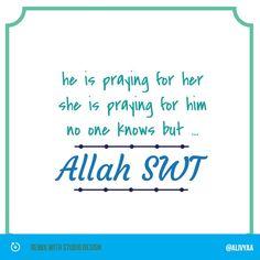 Praying ...