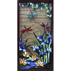 Found it at Wayfair - Valia Rectangular Stained Glass Panel