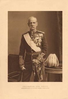 1900 VICTORIAN PRINT BOER WAR ~ FIELD MARSHAL LORD ROBERTS FULL DRESS UNIFORM | eBay