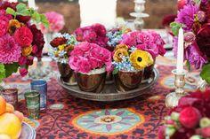 colorful centerpieces