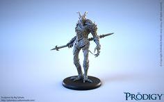 Prodigy @Hanakai Studio :3D Print Miniature Artist