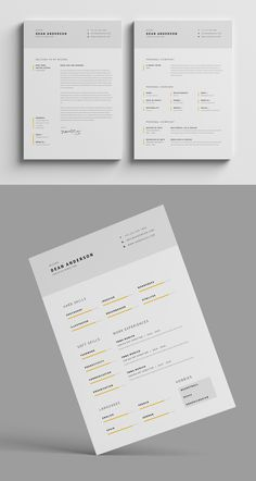 """Resume / CV / Portfolio""""Resume / CV"""" is the super clean, modern and professional resume cv template to help you land that great job. The flexible page designs are easy to use and customise, so you can quickly tailor-make your resume for any opportunity.…"""