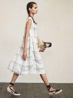 Easy, breezy midi dress by Reformation