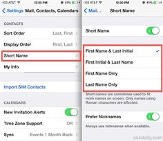 Set Messages app to display full names or initials in iOS 7