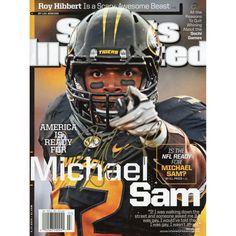 Michael Sam Missouri Tigers Fanatics Authentic Autographed 41687 Sports  Illustrated Magazine cbacff07c