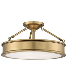 $239- entry way? Minka Lavery 4177 Harbour Point 19 Inch Semi Flush Mount | Capitol Lighting 1-800lighting.com
