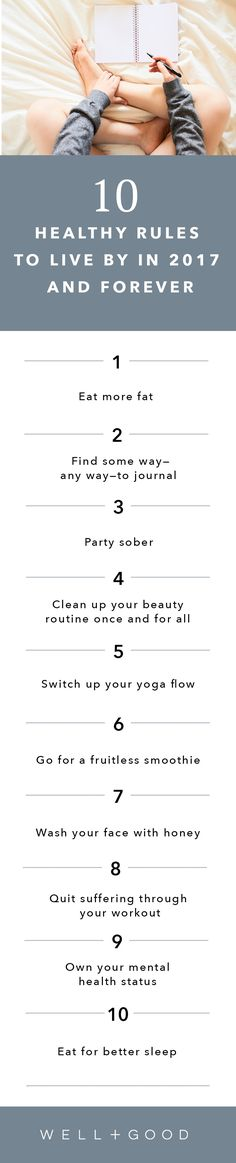 Rules to live by in 2017