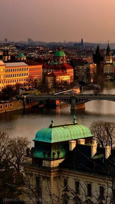 Prague  Czech Republic - Want to go here some day they have the most amazing crystal and pottery!