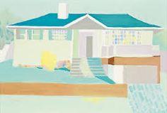 Saskia Leek need it Raymond Pettibon, New Zealand, Landscape, Architecture, Illustration, Artist, Painting, Image, Houses