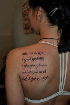Elvish Tattoos :)))