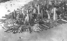 Lower Manhattan, 1930's