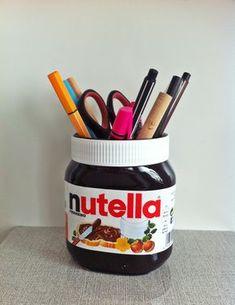Origineller Stifthalter für alle Nutella Fans