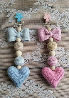 """Best 11 Crochet Pattern for Mini Broom Dolls Delight your family and friends with these crochet patterns for an adorable collection of """"Mini Broom Dolls"""". Worked with – SkillOfKing.Com Best 11 Crochet Pattern for Mini Broom Dolls Delight your f Crochet Baby Toys, Crochet Baby Booties, Crochet For Kids, Crochet Dolls, Knitted Dolls, Baby Knitting Patterns, Amigurumi Patterns, Crochet Patterns, Amigurumi Toys"""
