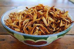 Kirsten's Kitchen: of vegan creations: Coconut Bacon