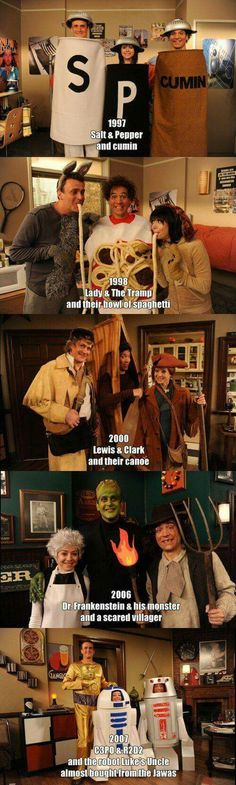 Ted is so awkward as a third wheel by the time I got to the last picture I was in tears! HIMYM is the best! How I Met Your Mother, Thats 70 Show, Movies And Series, Comedy Series, Avakin Life, Fantasias Halloween, Lady And The Tramp, I Meet You, Film Serie