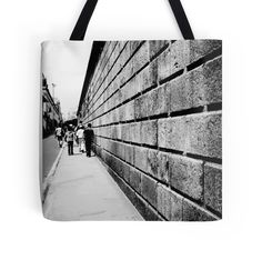 'Street Lines' Tote Bag by nath-gary