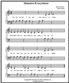 halloween songs for beginner piano students check out the free halloween music