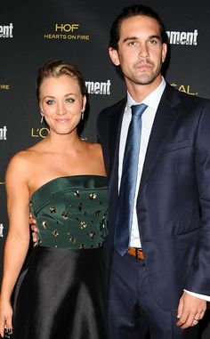 Kaley Cuoco-Sweeting & Ryan Sweeting from 2014 Emmys: Party Pics | E! Online