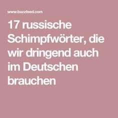 17 russische Schimpfwörter, die wir dringend auch im Deutschen brauchen