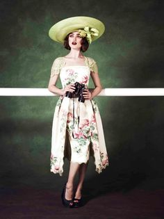 Suzie Turner featured in the Royal Ascot 2013 campaign, alongside fabulous hat designer Philip Treacy  www.suzieturner.com